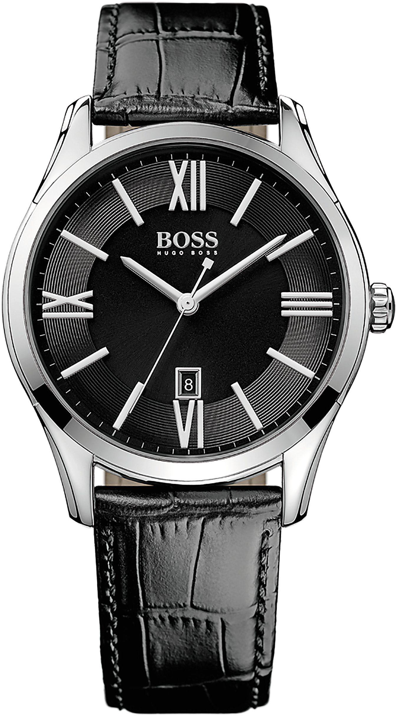 Boss Quarzuhr »AMBASSADOR ROUND, 1513022«