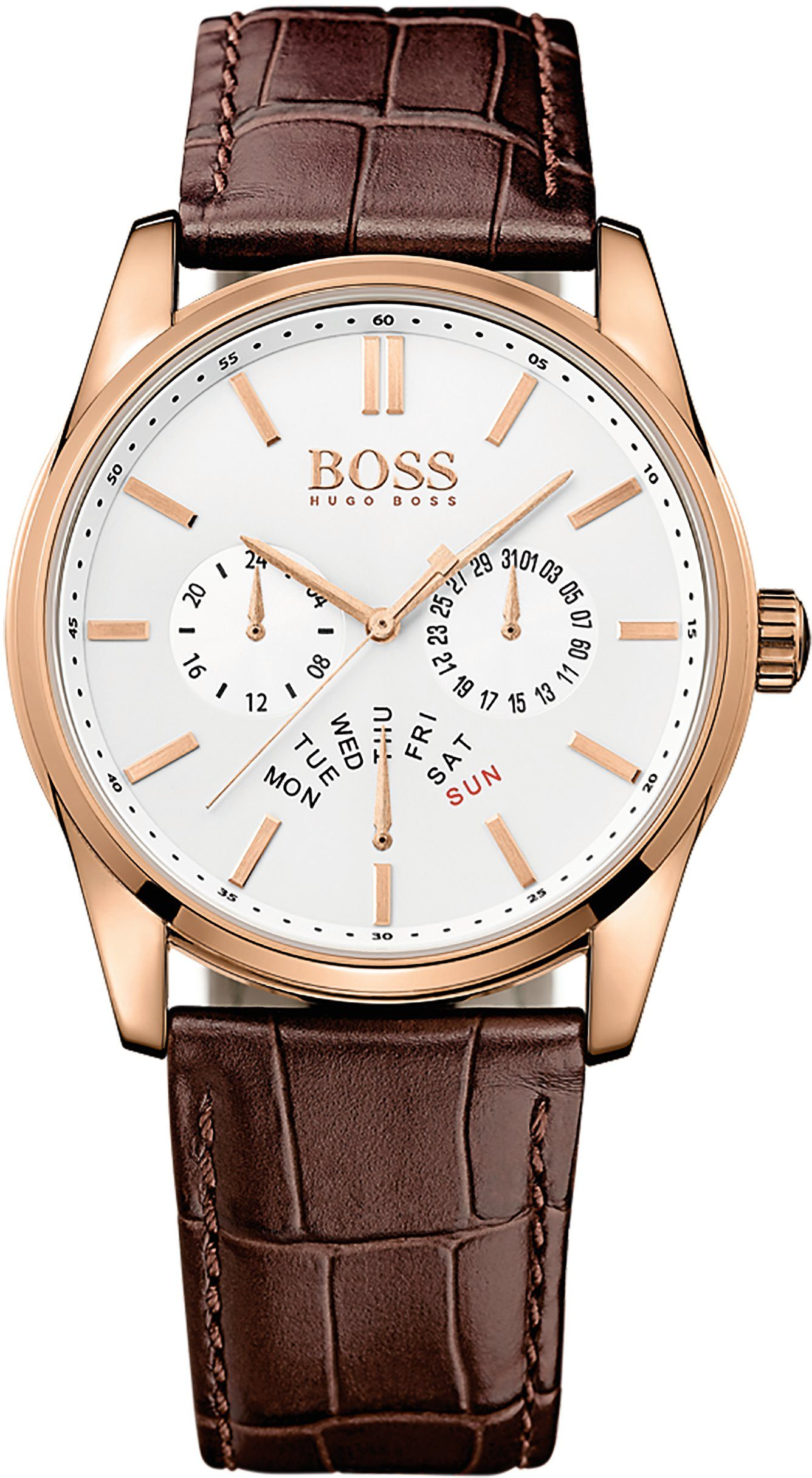 Boss Multifunktionsuhr »HERITAGE, 1513125«