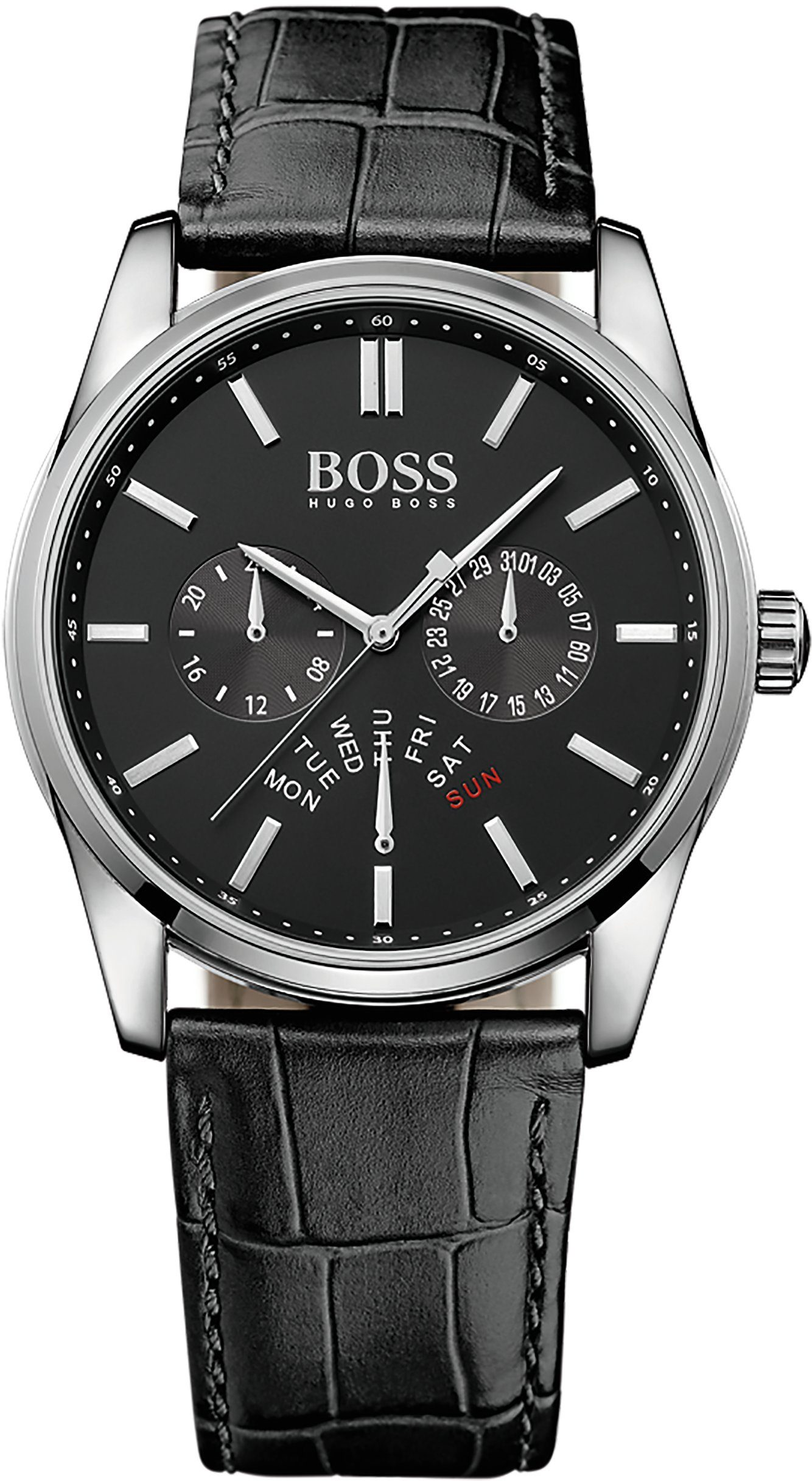 BOSS Multifunktionsuhr, »HERITAGE, 1513124«
