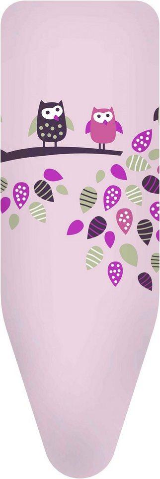 Bügelbrettbezug »Eule«, pink, in 3 Größen in rosa
