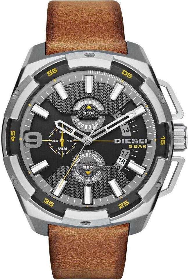 Diesel Chronograph »HEAVYWEIGHT, DZ4393« in braun
