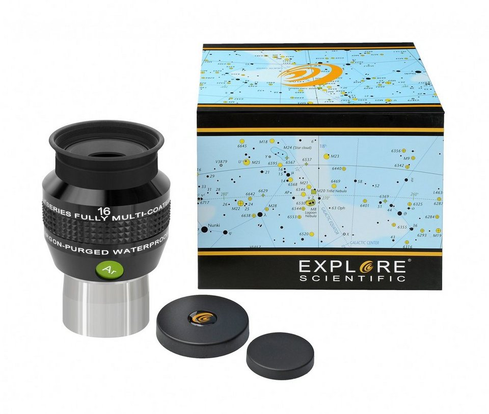"Bresser Teleskop »EXPLORE SCIENTIFIC 68° Ar Okular 16mm (1,25"") mP«"
