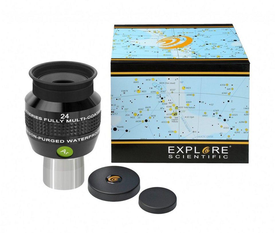 """Bresser Teleskop »EXPLORE SCIENTIFIC 68° Ar Okular 24mm (1,25"""")«"""
