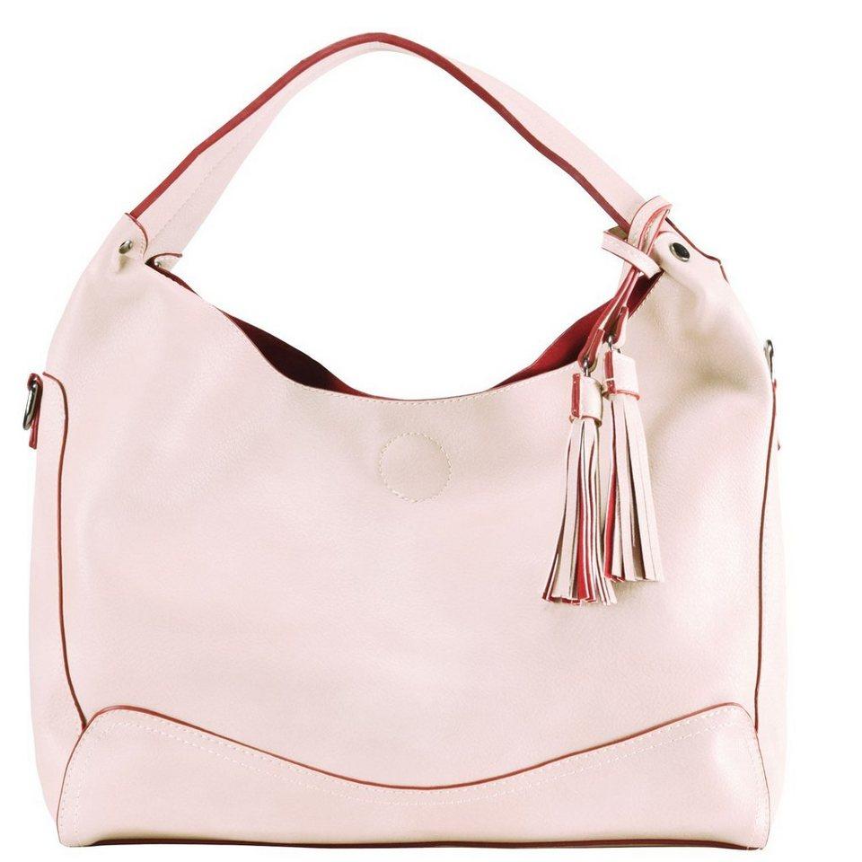 Maestro Surprise Bag in Bag Shopper Tasche 40 cm in rose