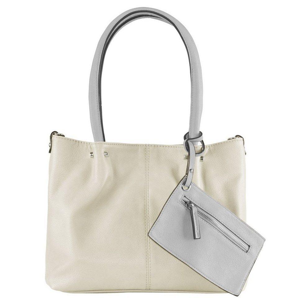 Maestro Surprise Bag in Bag Shopper Tasche 35 cm in ice hellgrau