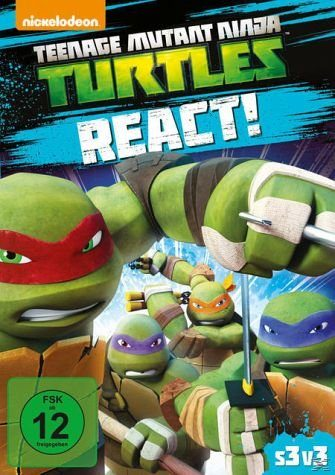 DVD »Teenage Mutant Ninja Turtles - React!«