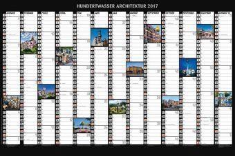 Kalender »Hundertwasser Jahresplaner Architektur 2017«