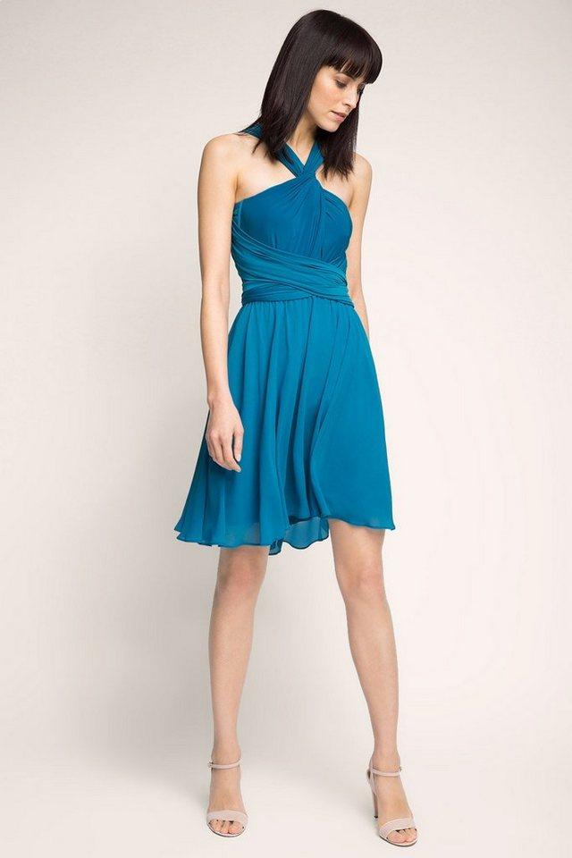 ESPRIT COLLECTION 4in1 Kleid: so viele Trage-Varianten in PETROL BLUE