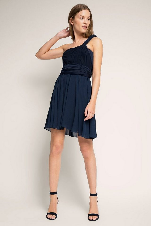ESPRIT COLLECTION 4in1 Kleid: so viele Trage-Varianten in NAVY