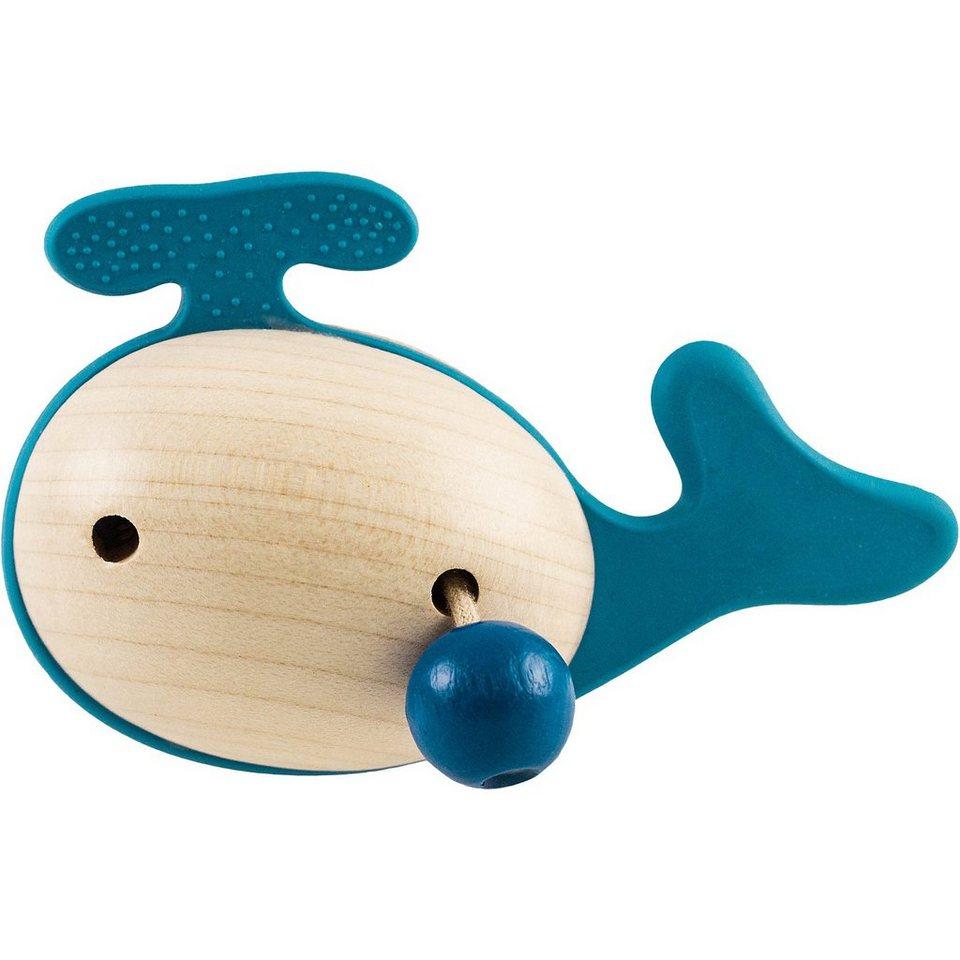 JonO+ Holzgreifling Wal blau