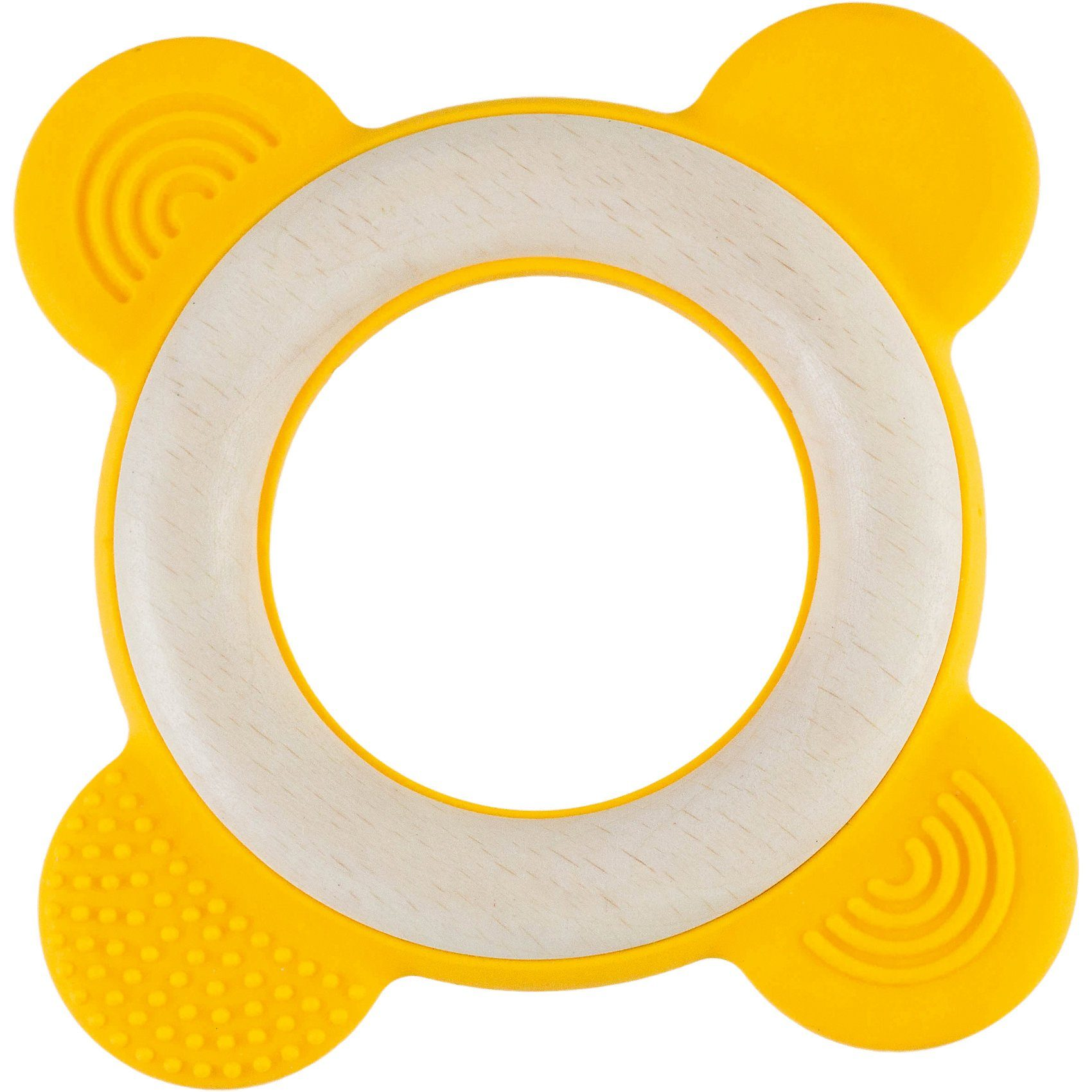 RingO+ Holzgreifling gelb