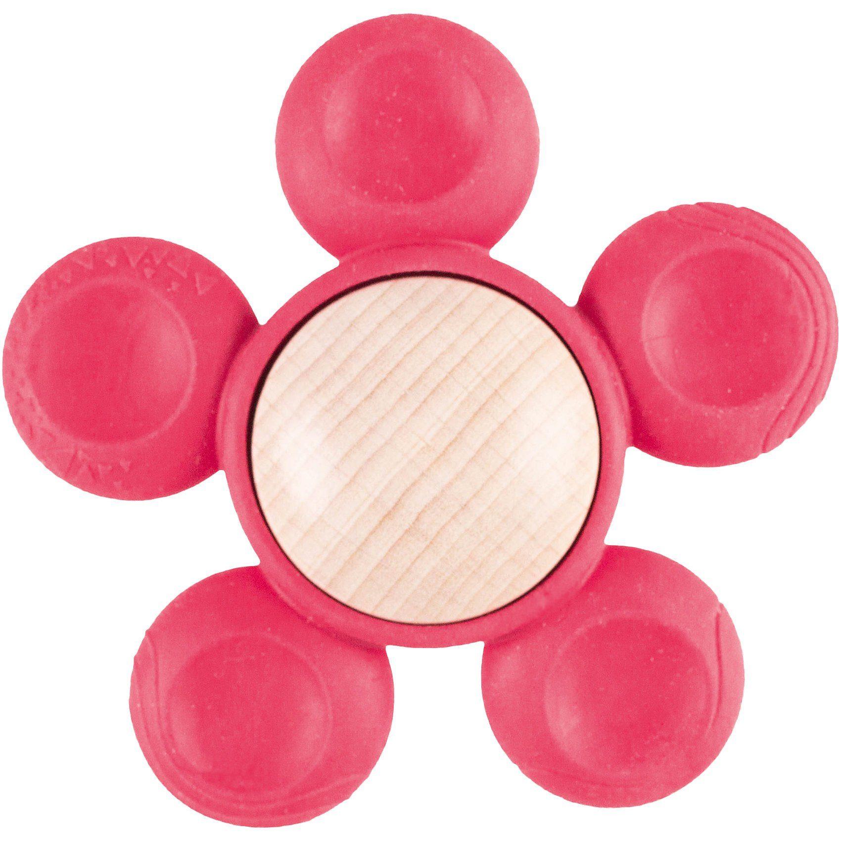 FiO+ - Holzgreifling Blume pink
