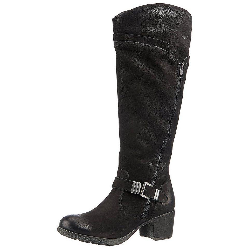 bugatti Stiefel in schwarz