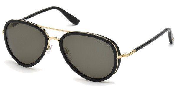 Tom Ford Herren Sonnenbrille »Miles FT0341« in 28J - gold