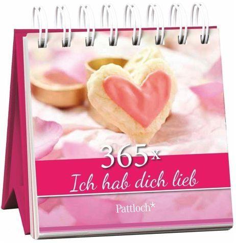 Broschiertes Buch »365 x Ich hab dich lieb«