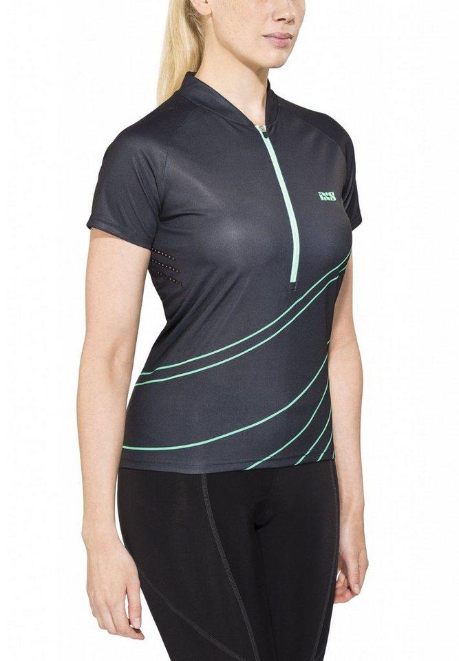 IXS Radtrikot »Trail 6.2 Women Jersey« in schwarz
