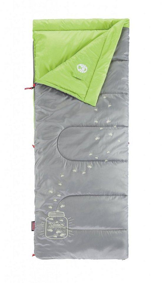 COLEMAN Schlafsack »Glow Sleeping Bag Kids« in grau