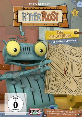DVD »Ritter Rost - Vol 8: Die Schatzjäger«