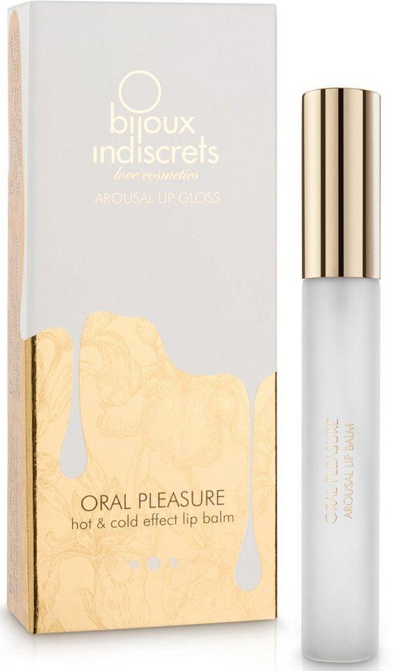 Bijoux Indiscrets Lipgloss mit Heiß-kalt-Effekt »Oral Pleasure - Oral Sex Lip Gloss«