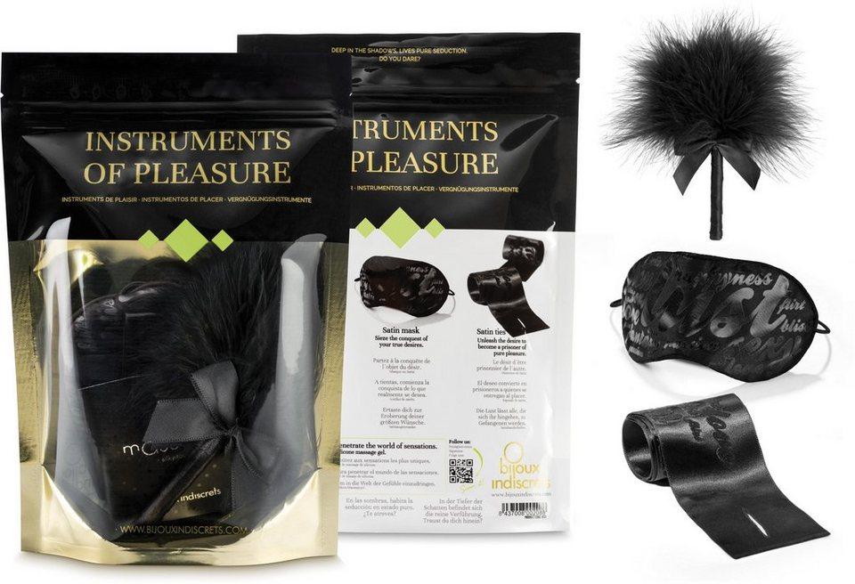 Bijoux Indiscrets Geschenkset für Paare »Instruments of Pleasure - Green« (4-tlg.)