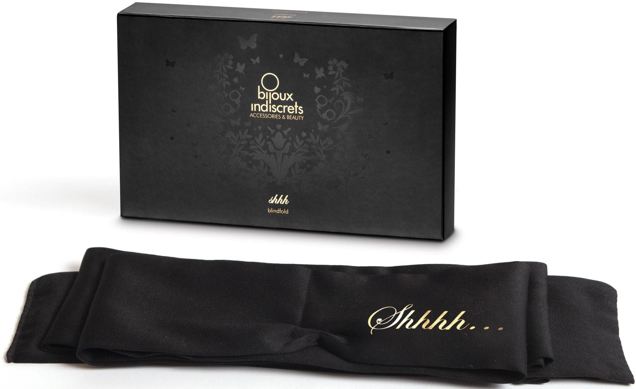 Bijoux Indiscrets Augenbinde mit langer Satinbinde »Shhh Blindfold«