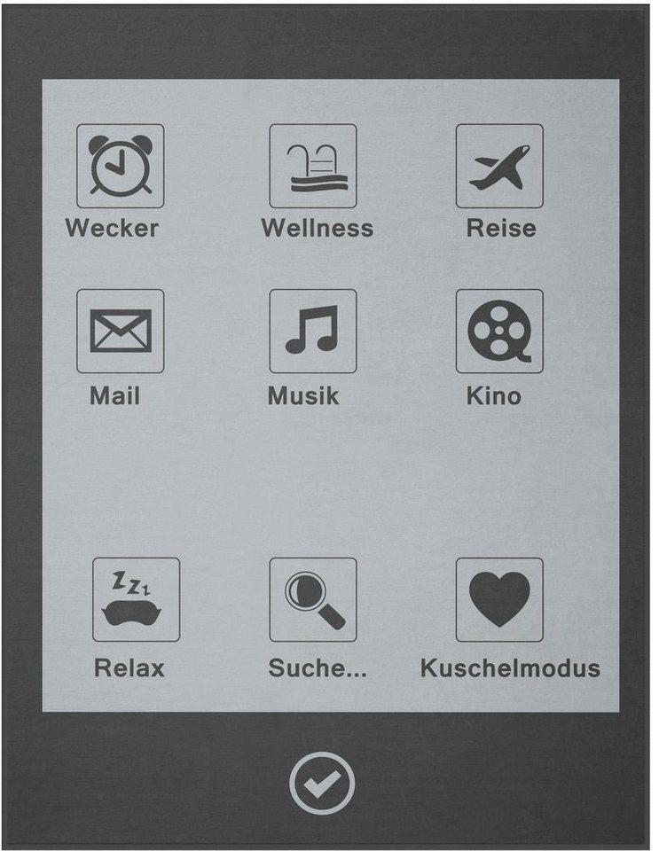 Wohndecke, Biederlack, »Display«, im trendigen Design in grau