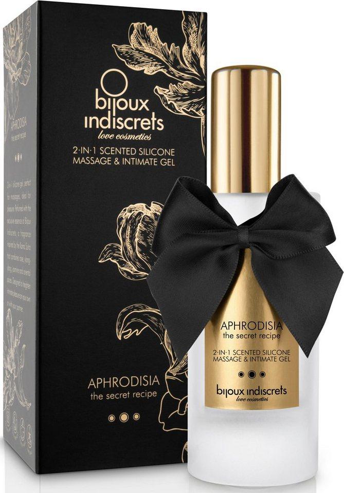 Bijoux Indiscrets Silikonbasiertes Massageöl und Gleitmittel »Aphrodisia 2 in 1«
