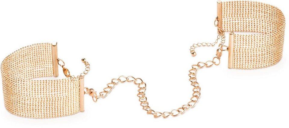 Bijoux Indiscrets Handschellen und Armband »Magnifique Handcuffs« in gold