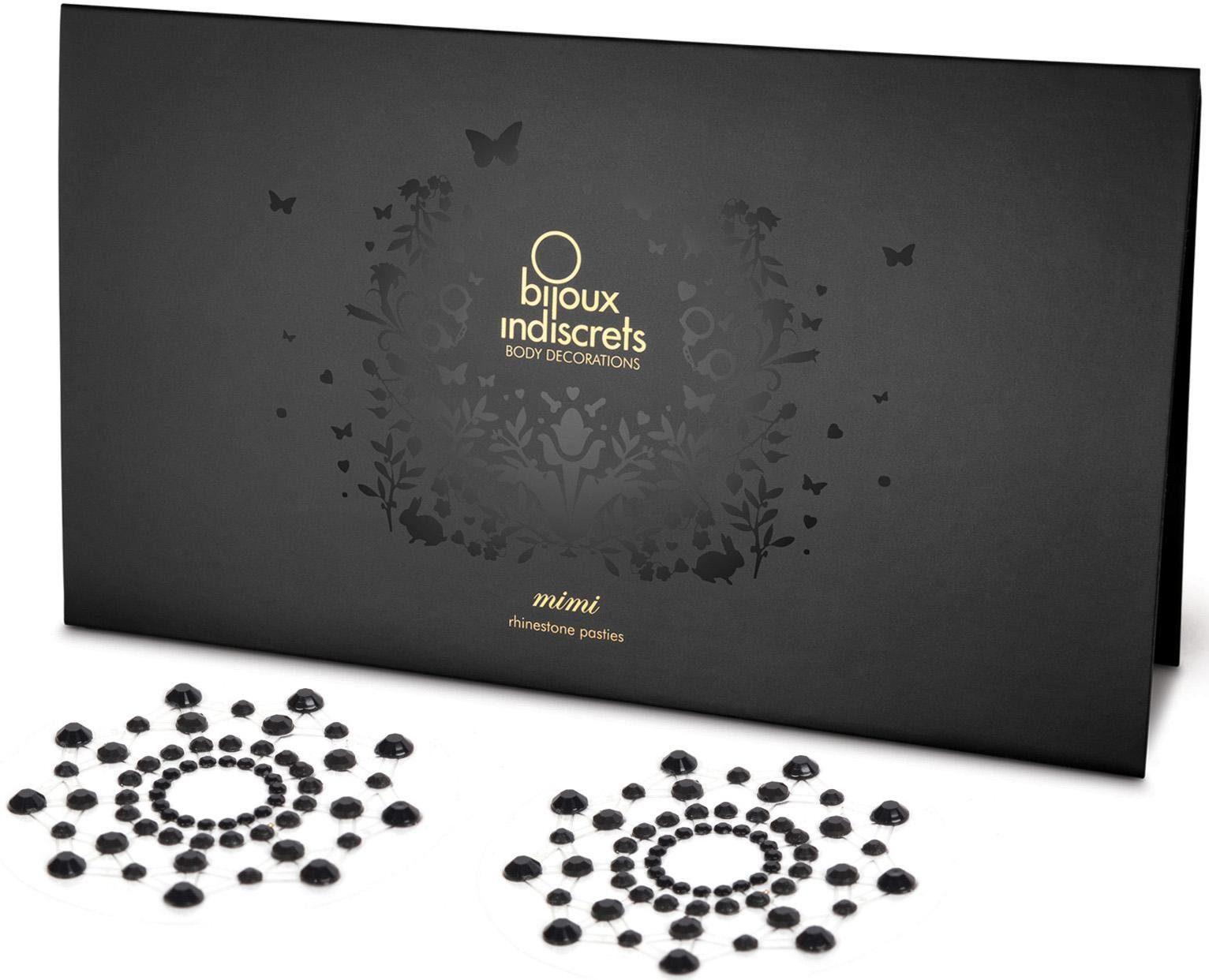 Bijoux Indiscrets Nippelschmuck aus Strasssteinen »Mimi Nipple Covers«