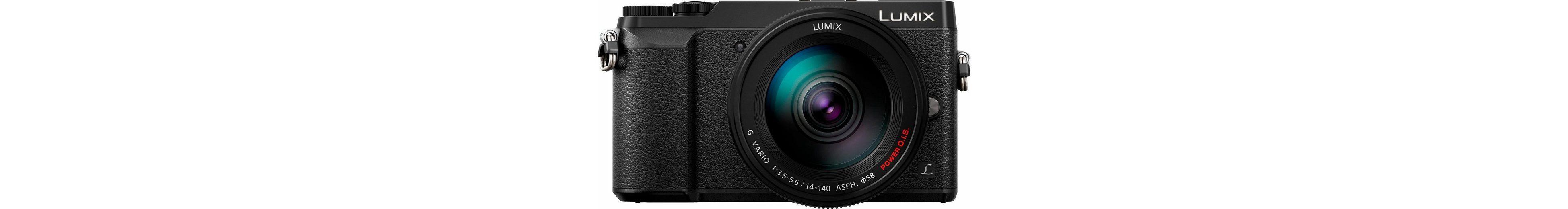Lumix Panasonic DMC-GX80HEG-K System Kamera