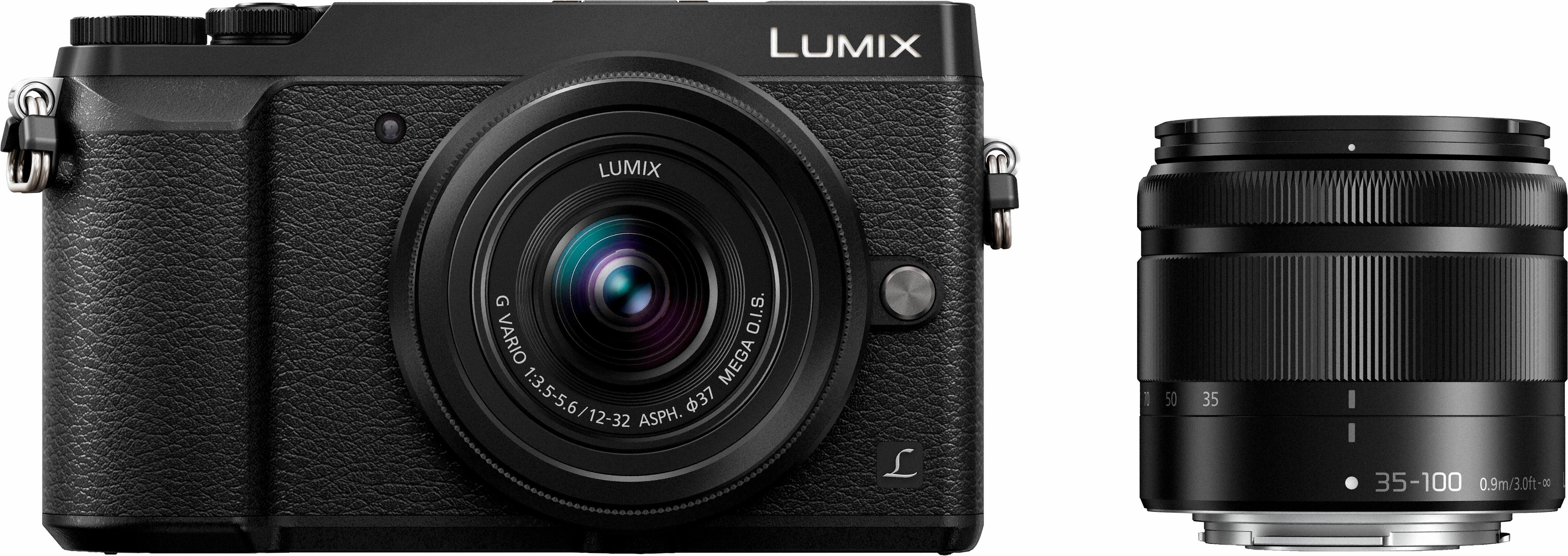 Lumix Panasonic DMC-GX80WEG-K System Kamera