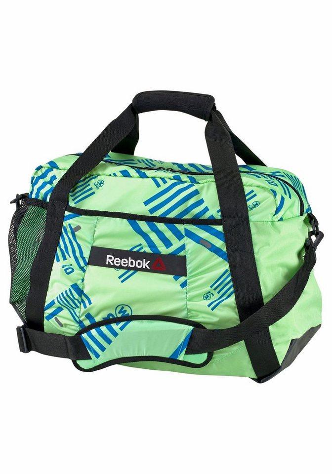 Reebok ONE SERIES WOMENS 31L GRAPHIC GRIP Sporttasche in grün-schwarz