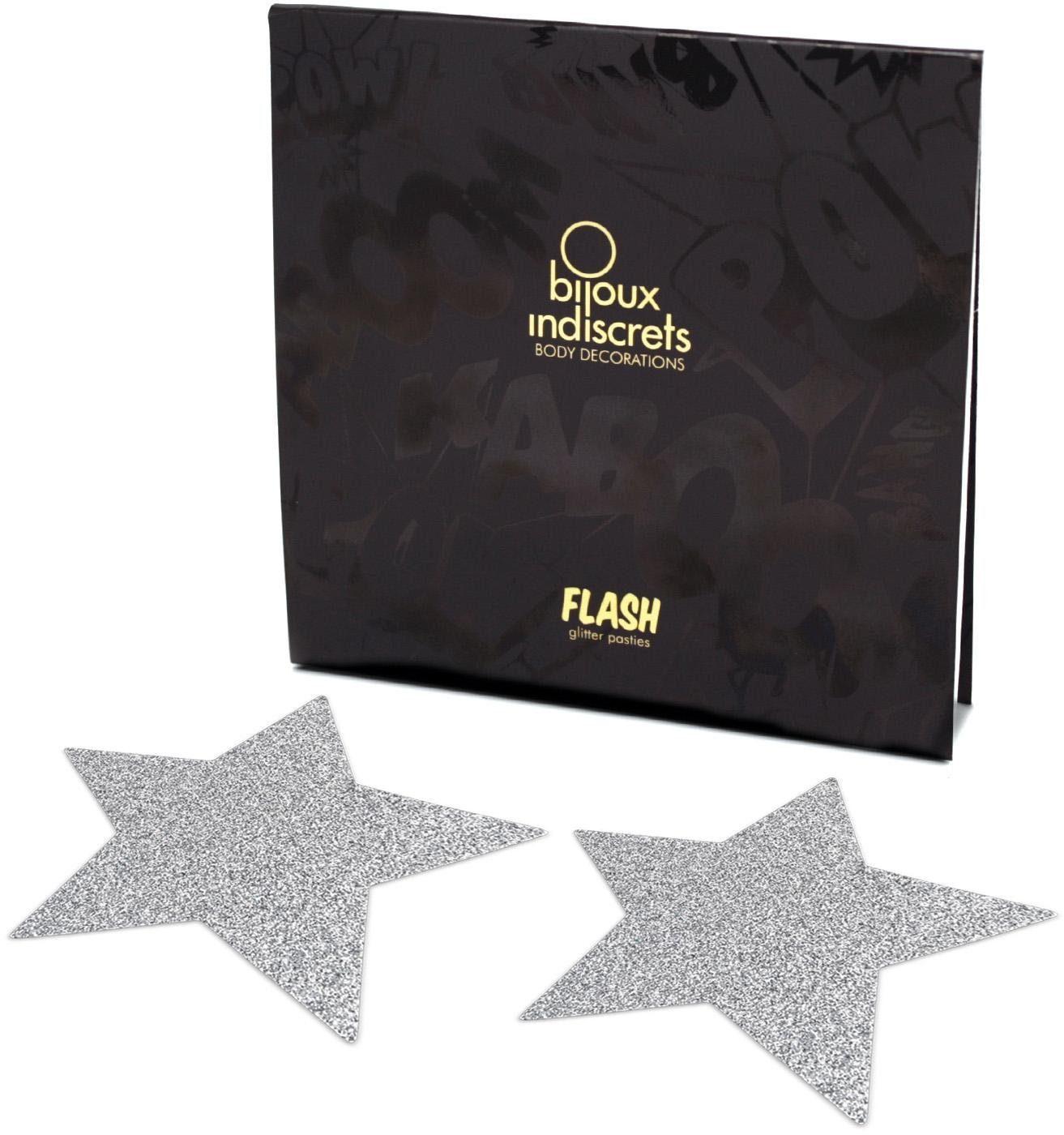 Bijoux Indiscrets Nippelschmuck in Sternform »Flash Star« (2 Stück)