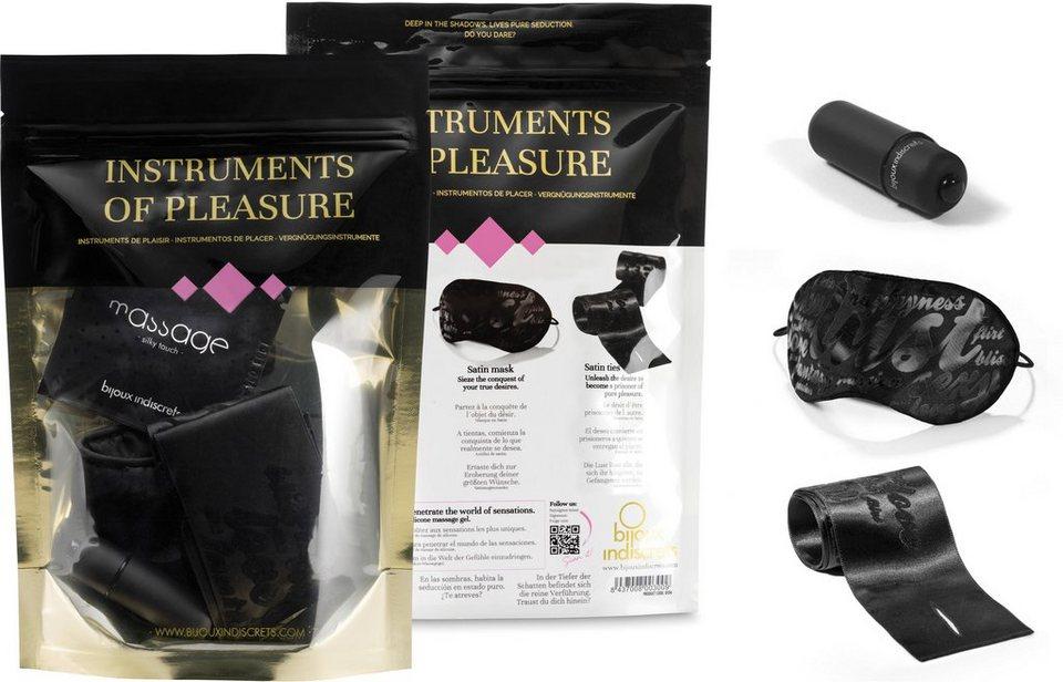 Bijoux Indiscrets Geschenkset für Paare »Instruments of Pleasure - Purple« (4-tlg.)
