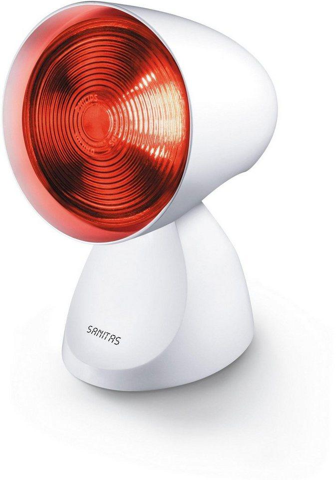 Sanitas Infrarotlampe SIL 16, Infrarotlampe mit exklusivem Design in weiß