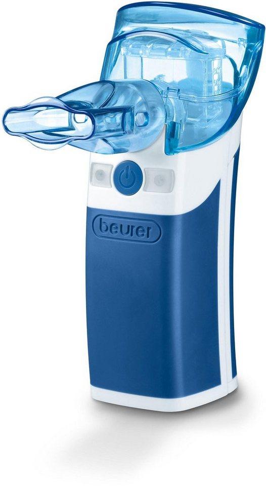 Beurer Inhalator IH 50, mit Schwingmembranvernebluung in blau/weiß