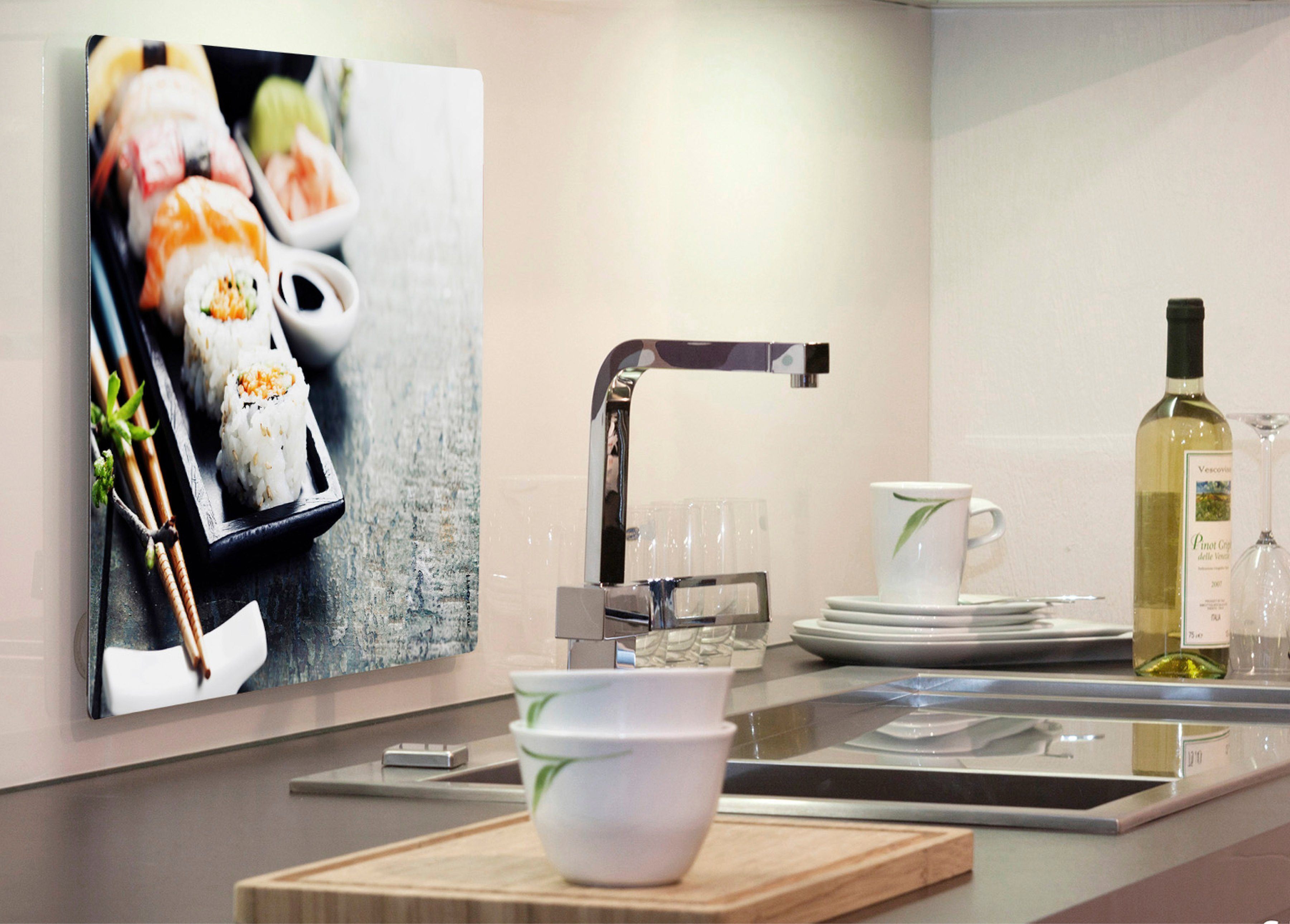 Küchenrückwand »pop«, Sushi, 59x41 cm