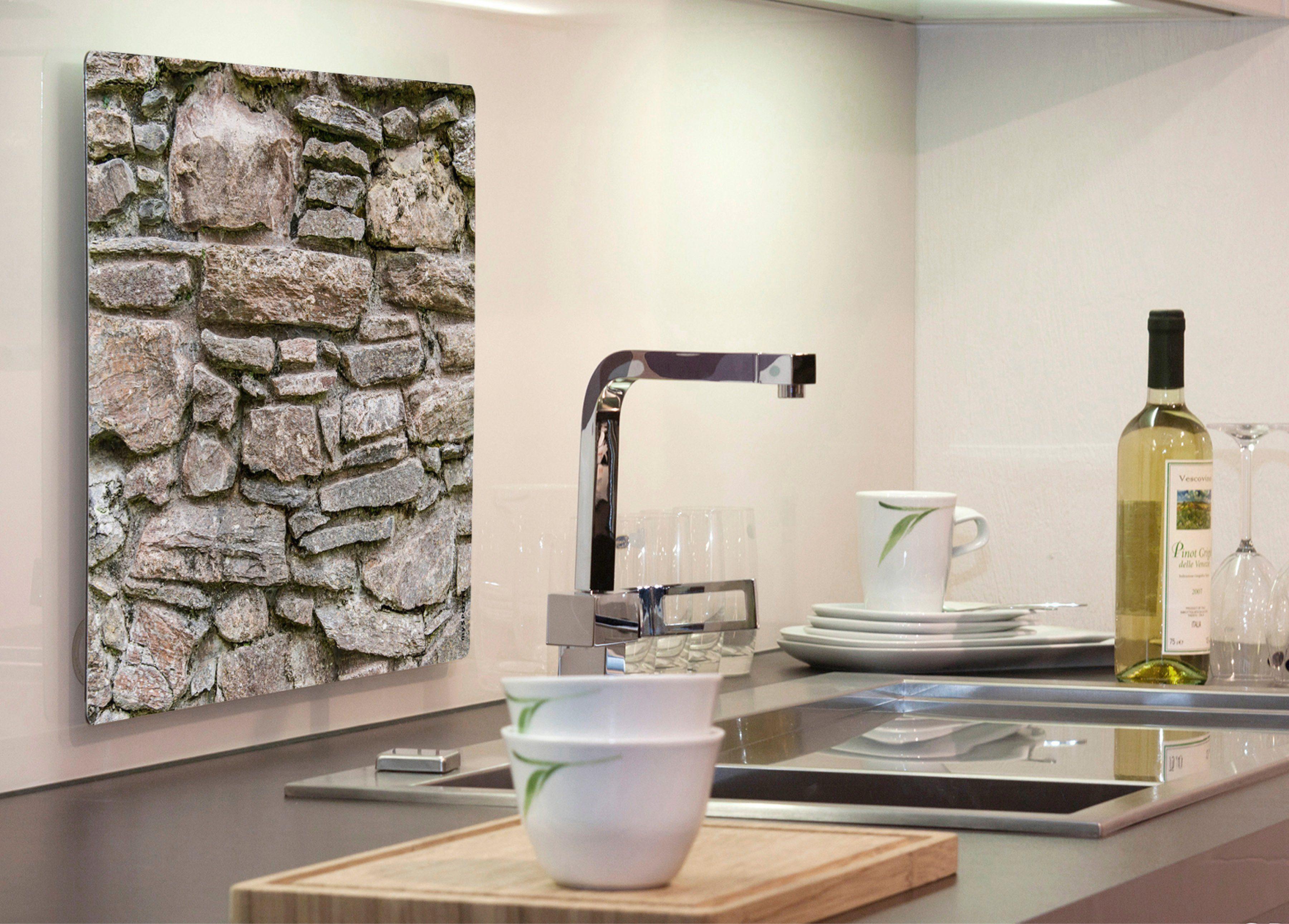 Küchenrückwand »pop«, Steinwand, 59x41 cm