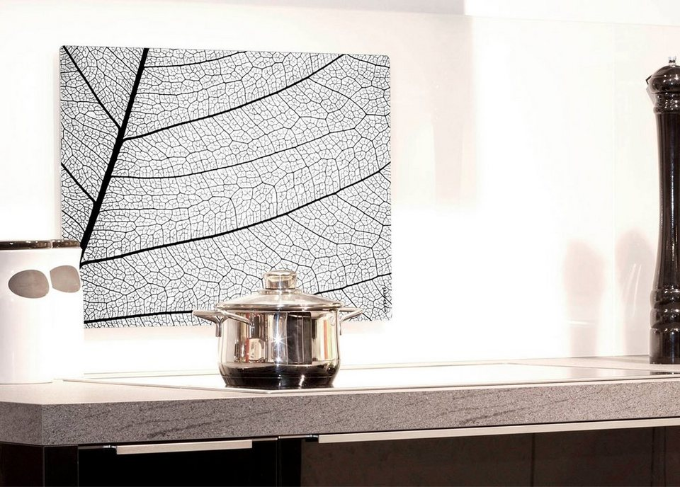Küchenrückwand »pop«, Struktur, 59x41 cm in grau