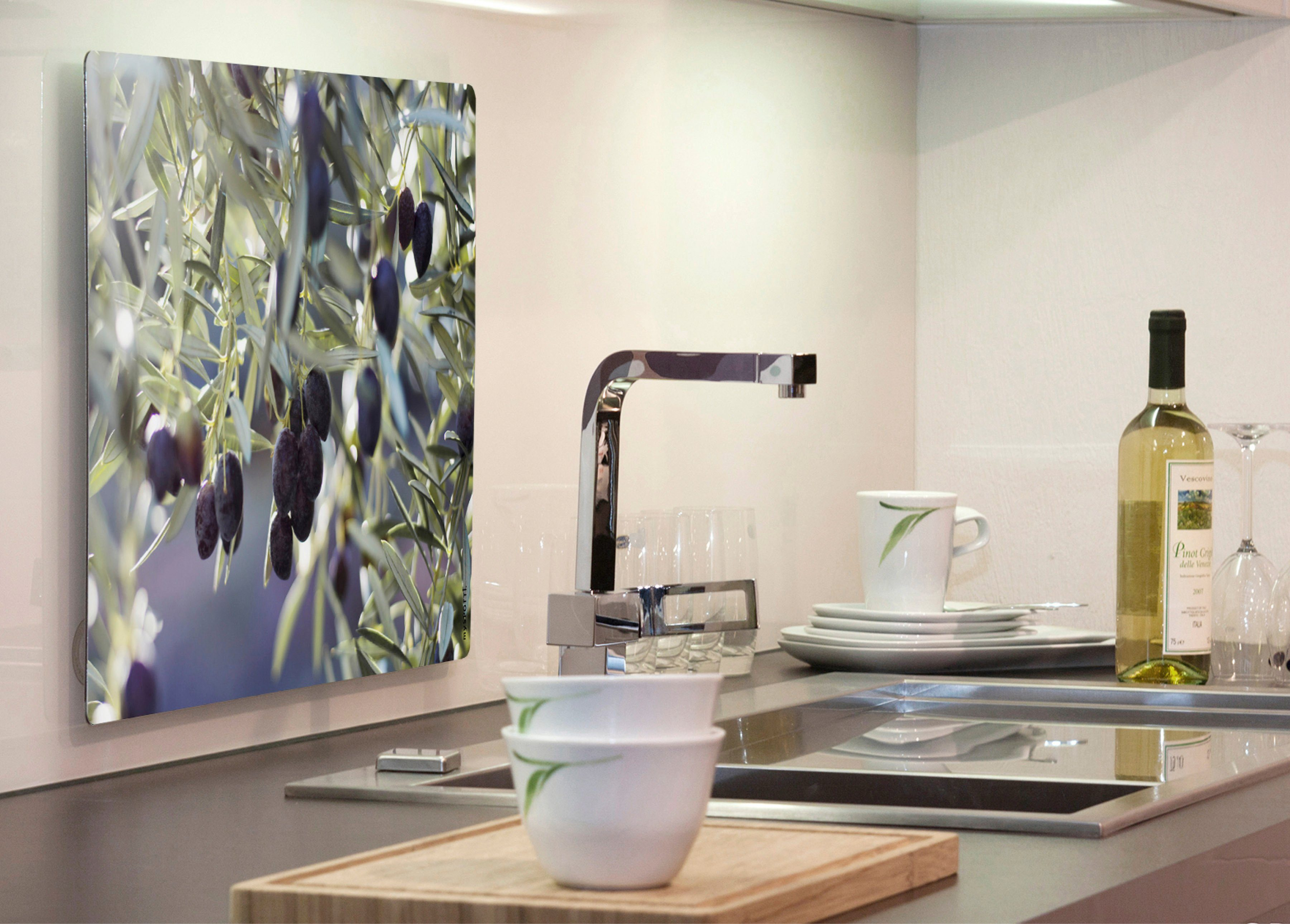 Küchenrückwand »pop«, Olivenbaum, 59x41 cm