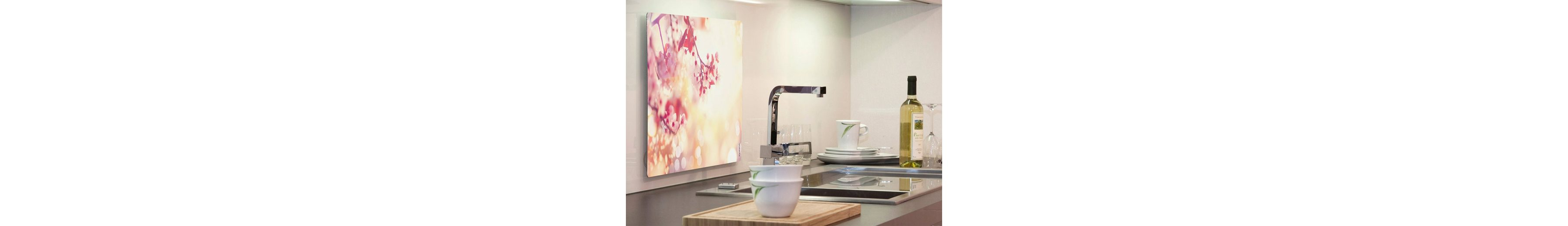 Küchenrückwand »pop«, Blütentraum, 59x41 cm