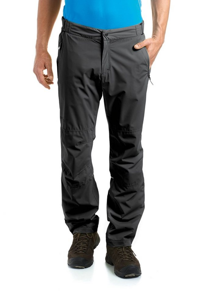 MAIER SPORTS Regenhose »Raindrop M« in black