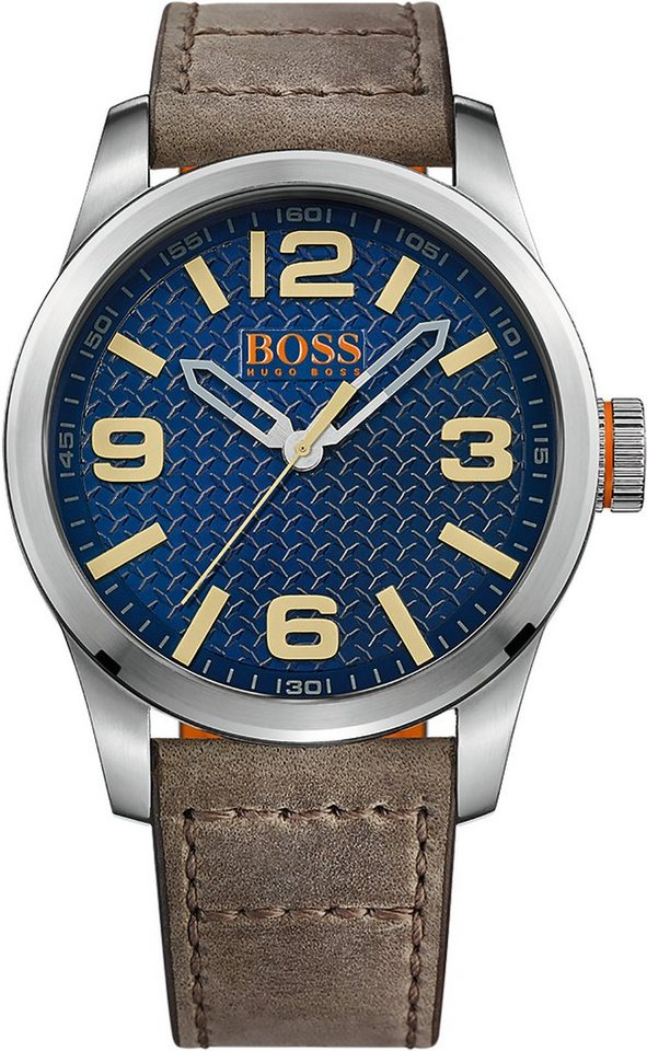 Boss Orange Quarzuhr »PARIS, 1513352« in braun