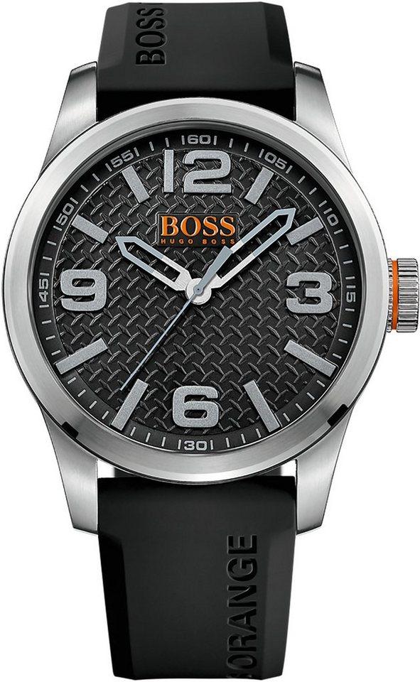 Boss Orange Quarzuhr »PARIS, 1513350« in schwarz