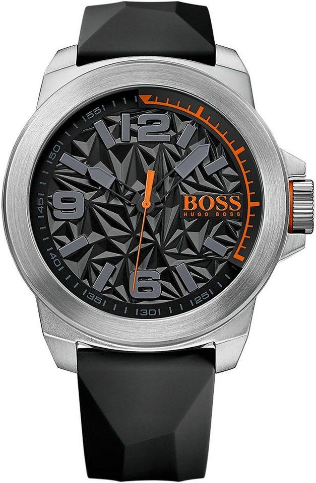 Boss Orange Quarzuhr »NEW YORK, 1513345« in schwarz