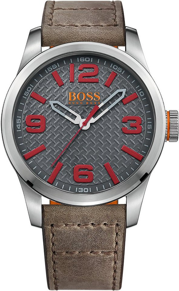 Boss Orange Quarzuhr »PARIS, 1513351« in braun