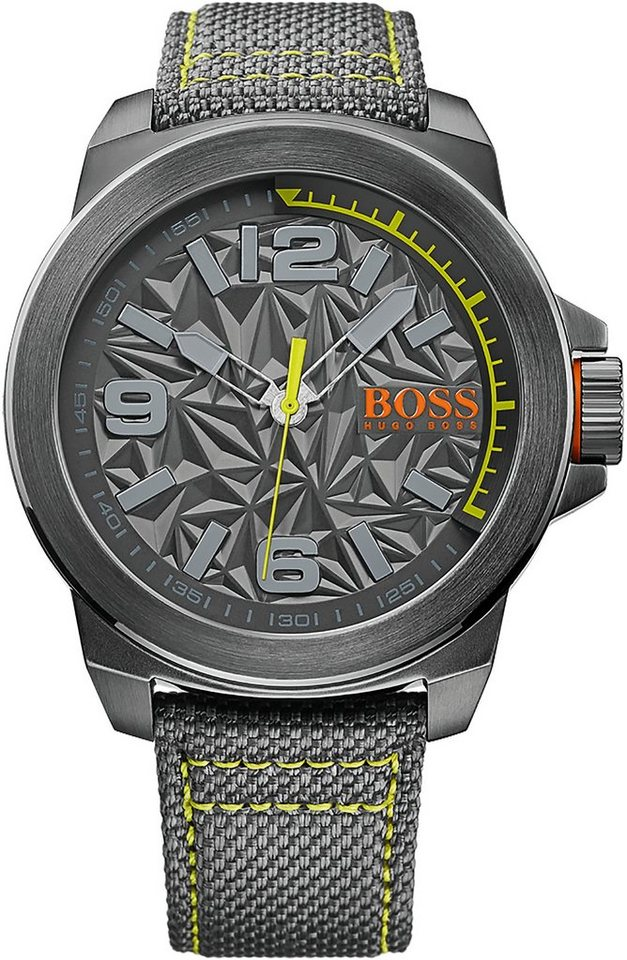 Boss Orange Quarzuhr »NEW YORK, 1513344« in grau