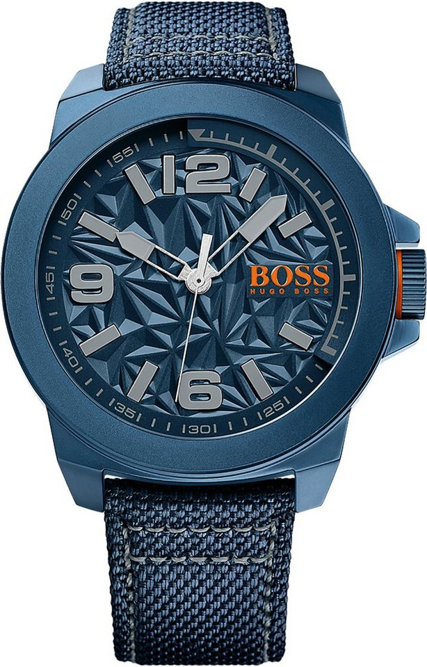 Boss Orange Quarzuhr »NEW YORK, 1513353« in blau