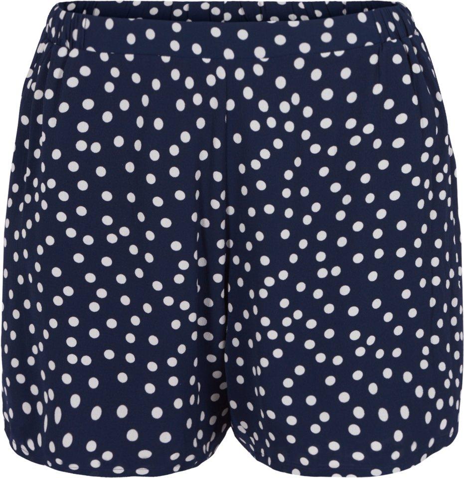 Zizzi Shorts in Dress Blues Comb