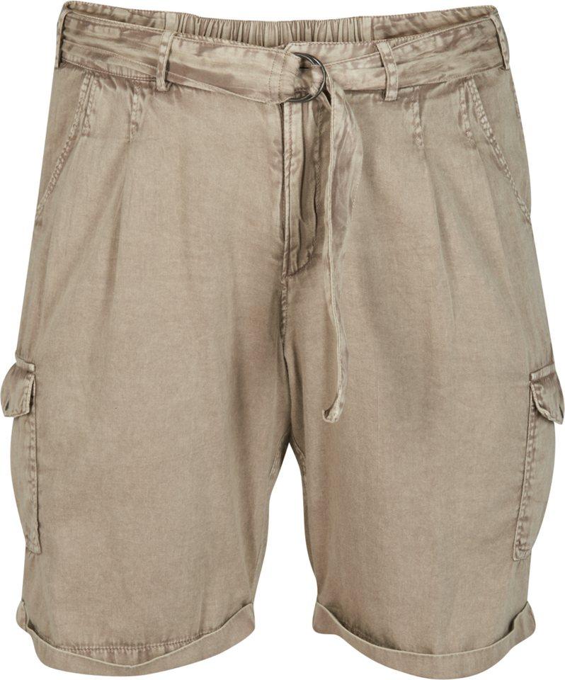 Zizzi Shorts in Brindle